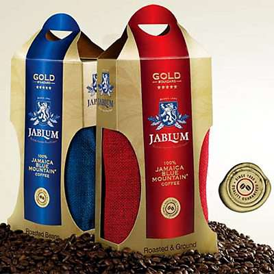 JABLUM Gold 16oz Whole Beans & Roasted Ground Coffee